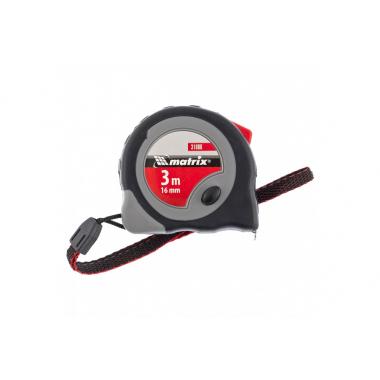 31086 Рулетка Continuous fixation 3м-16 мм // Matrix