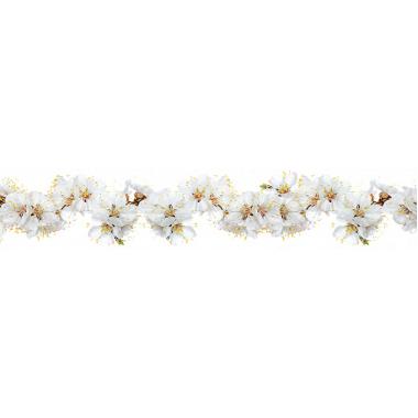 Интерьерная панель Цветочная мечта 13 Цветы вишни 3000*600*1,5мм ABS