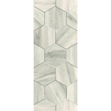 Миф 7 белый (белые соты) 20х50 Настенная плитка