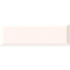 Metro white белая 01 v2 10х30 Настенная плитка