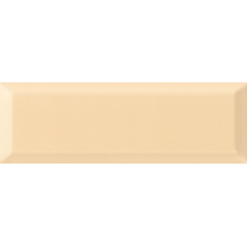 Metro beige light светло-бежевая 01 v2 10х30 Настенная плитка