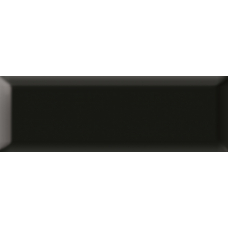 Metro black черная 01 v2 10х30 Настенная плитка