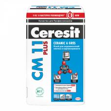 Церезит СМ-11 Plus Клей для плитки и керамогранита (25 кг)