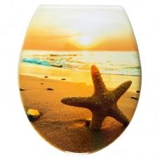 Сиденье д/унитаза Пляж МС-052