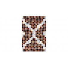 Гламур 3 тип 1  27,5х40 (коричневый узор) Настенная плитка НЗ