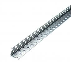 Уголок защитный перфорированный оцинк.25*25 3м