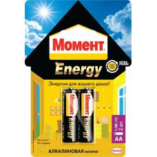 Элемент питания Момент Energy AA (пальчик)  за 2 шт