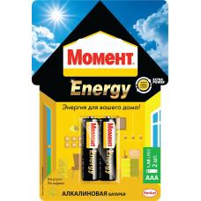 Элемент питания Момент Energy AAA (мизинец)  за 2 шт