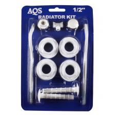 Монтажный комплект д/радиатора  Ду-15(112-1/2) 'G.LAUF' 39067 (2-кроншт.) AQS 1/40 шт