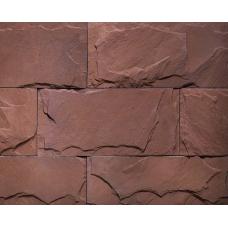 BERG Айсризенвельт, Красный,  плитка,  бетон, 377*180*12-17 мм 162005 в (уп. 0,81)   НЗ