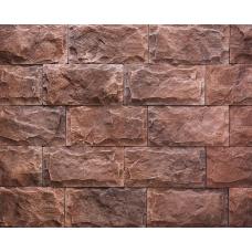 BERG Мраморные пещеры, Красный,  плитка,  бетон, 193*97*15-20 мм 162505 в уп.(0,67кв/м)   НЗ