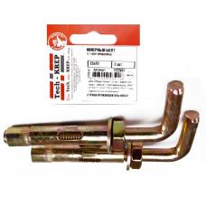 Анкер д/водонагревателя  (болт с Г-образный крюком HL) 12x70 (2 шт) - пакет Tech-Krep