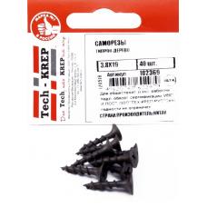 Саморез ШСГД 3,8х19 (40 шт) - пакет Tech-Krep