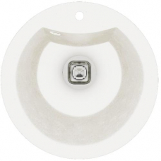 Мойка кварцевая TOLERO R-108 Белый (d51)