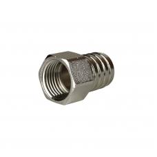 Штуцер латунный/никель ВР Ду 15х20 мм