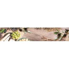 Интерьерная панель Гурман Греческий завтрак 3000*600*1,5мм ABS