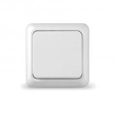 Выключатель Universal О0021 1 клавишный  Олимп белый