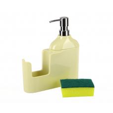 """Дозатор д/жидкого мыла """"VERONI""""желтый, D-13163"""