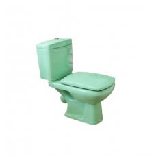 Унитаз в комплекте HTLH-201 LG-светло-зеленый сиденье-мультилифт (КНР)