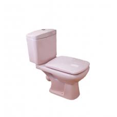 Унитаз в комплекте HTLH-201 LР-светло-розовый сиденье-мультилифт (КНР)
