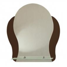 """Зеркало модель """"Айва"""" (450 х 550мм) с полкой"""