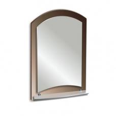 """Зеркало модель """"Арго"""" (400 х 585мм) с полкой"""