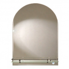 "Зеркало модель ""Арка"" (500 х 700мм) с полкой"