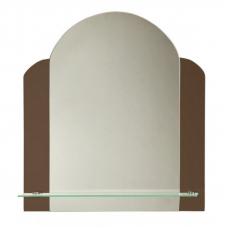 """Зеркало модель """"Вернисаж"""" (400 х 550мм) с полкой"""