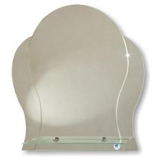 "Зеркало модель ""Манго"" (535 х 570мм) с полкой"