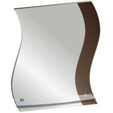 "Зеркало модель ""Ниагара"" (520 х 690мм) с полкой"