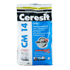 Клей для плитки для теплого пола Церезит СМ-14 Extra (5кг)