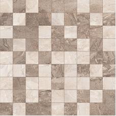 Polaris мозаика т.серый+серый 30*30