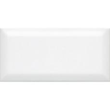 Бланше белый грань 9,9*20 19040 Настенная плитка