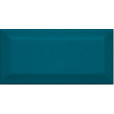Клемансо бирюзовый грань 16057 7,4*15  Настенная плитка