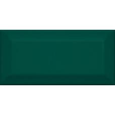 Клемансо зеленый грань 16058 7,4*15  Настенная плитка