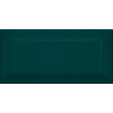 Клемансо зеленый темный грань 16059 7,4*15  Настенная плитка