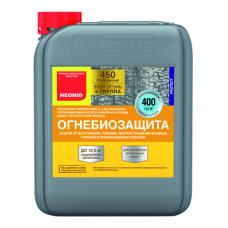 Деревозащитный состав огнебиозащитный состав - 2 группа, 5кг Неомид 450