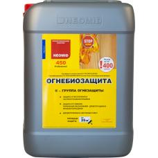 Деревозащитный состав огнебиозащитный состав - 2 группа, 10кг Неомид 450