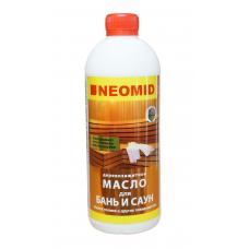 Деревозащитный состав масло д/бань и саун 500мл Неомид