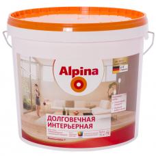 Краска водно-дисперсионная для внутренних работ Alpina Долговечная интерьерная База 3, 9,4 л