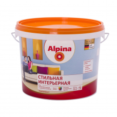 Краска водно-дисперсионная для внутренних работ Alpina Стильная интерьерная База 3, 2,35 л