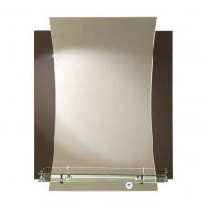 "Зеркало модель ""Метиз"" (560 х 690мм) с полкой"