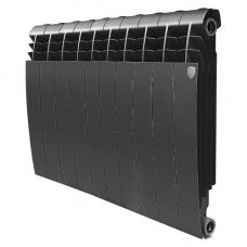 """Радиатор биметалл """" ROYAL THERMO BiLiner """"500/10 BM 500/80-10 Noir Sable (черные)"""