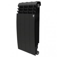 """Радиатор биметалл """" ROYAL THERMO BiLiner """"500/4 BM 500/80-4 Noir Sable (черные)"""