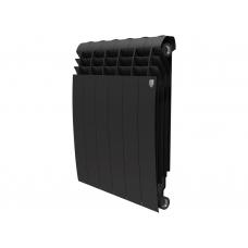 """Радиатор биметалл """" ROYAL THERMO BiLiner """" BM 500/80-6 Noir Sable (черные)"""