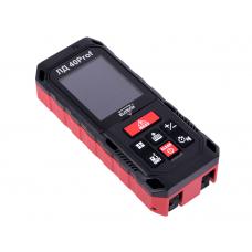 """Дальномер лазерный """"ELITECH"""" ЛД40Prof, 0.05-40м,угломер,точн.-1.5мм/м,резьба,скоба,3*1.5В(ААА),0.12к"""