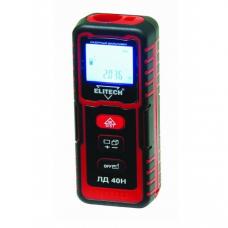 """Дальномер лазерный """"ELITECH"""" ЛД40Н (Е0301.001.00), 2*1.5В(ААА),0.05-40м,точн+-2мм/м,0.1кг"""