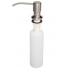 Дозатор д/моющих средств жидких,врезной, никель