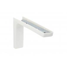 Corner менсолодержатель с декоративной накладкой L-240 мм, белый