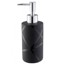 Дозатор д/жидкого мыла  Axentia Nero    131056